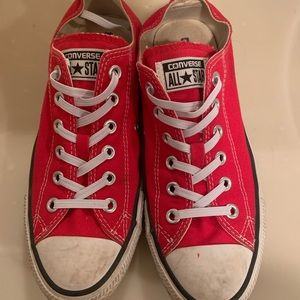 Classic Red Low Top Converse